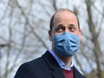 """Britisches Königshaus: Prinz William: """"Wir sind keine rassistische Familie"""""""