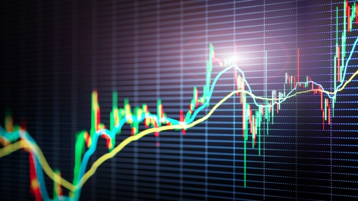 Dem Geheimnis auf der Spur: Nervosität und Hoffnung: An Börsencharts lässt sich vieles ablesen - und noch mehr interpretieren.