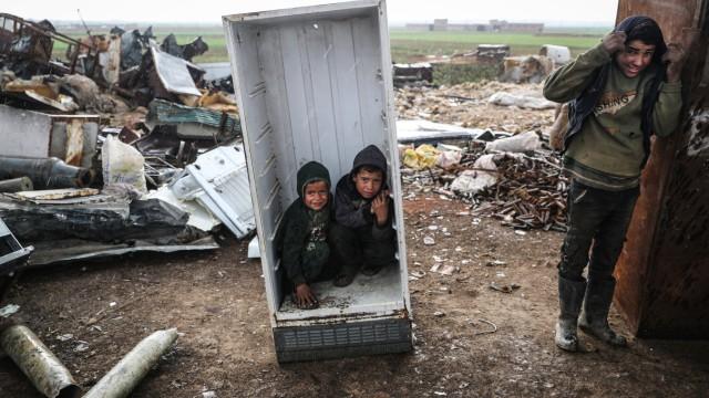Situation der Kinder in Syrien