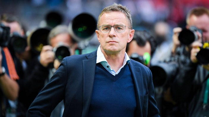 25 05 2019 xkvx Fussball DFB Pokal Finale RB Leipzig FC Bayern Muenchen emspor v l Ralf Rangn; Rangnick