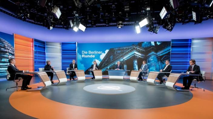 Landtagswahl in zwei Bundesländern - Berliner Runde