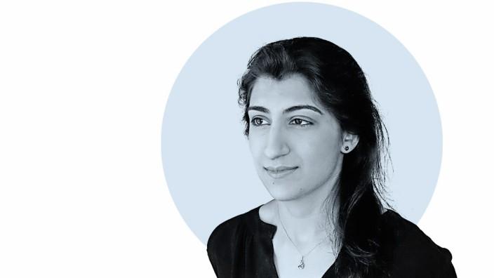"""Nahaufnahme: Lina Khan: """"Es geht um mehr als um Kartellrecht oder Big Tech. Es geht darum, ob unsere Gesetze der Demokratie dienen."""""""