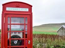 Neues Leben für rote Telefonzellen in Großbritannien