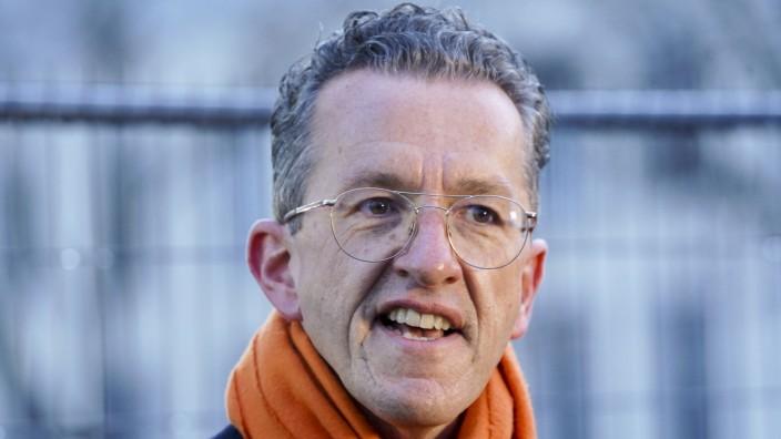 Wahlabend der Landtagswahl Rheinland-Pfalz Aktuell, 14.03.2021, Mainz, Freie Waehler-Spitzenkandidat Joachim Streit im P