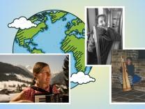 Doro Heckelsmüller reiste mit ihrer Harfe um die Welt