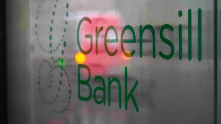 Logo der Greensill Bank