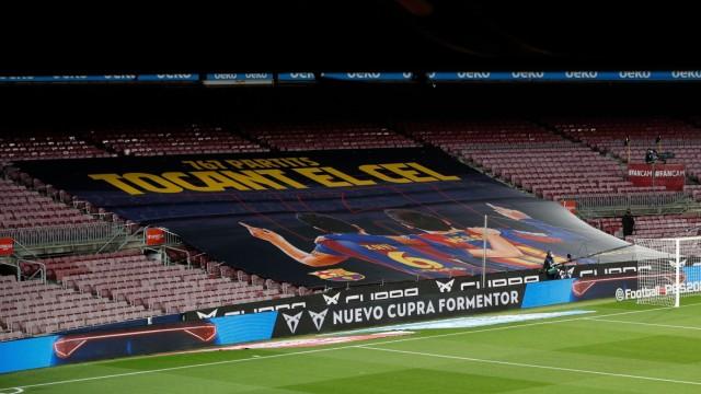 La Liga Santander - FC Barcelona v SD Huesca