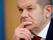 Bundesfinanzminister Olaf Scholz (SPD) in Berlin