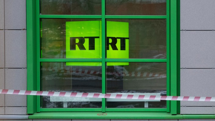 RT-Hauptsitz in Moskau