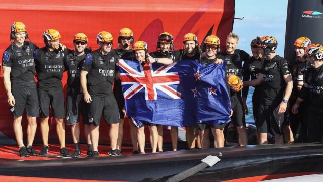 Neuseeland gewinnt zum vierten Mal den America·s Cup