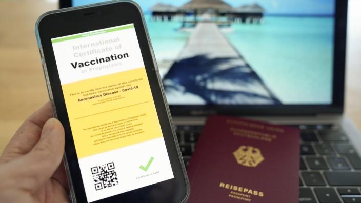 Symbolbild eines möglichen Digitalen Impfpasses