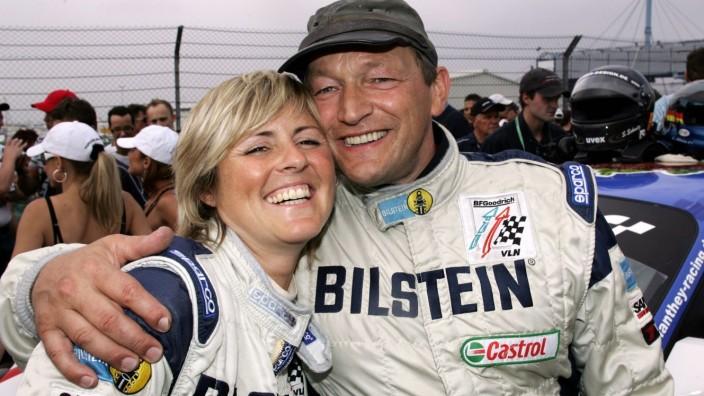 Klaus Abbelen und Sabine Schmitz (beide Deutschland)