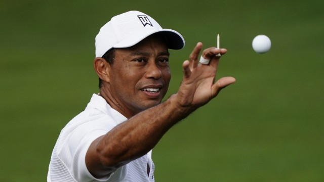 Tiger Woods nach Autounfall wieder zu Hause