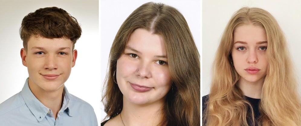 Jorge, Laura und Alina, Kombo zu Abitur in Pandemie-Zeiten, 1.5220929