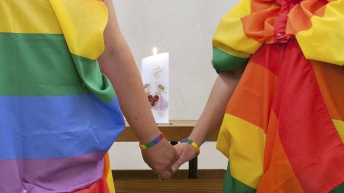 Segensgottesdienst anlaesslich der Hochzeit von Pfarrerin Daniela Loster aus Voelklingen Warndt im S
