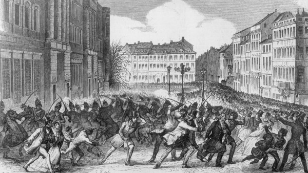 Revolution 1848 in Berlin