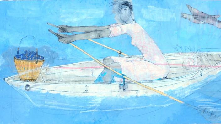 Eine Reise träumen, Galerie Kunststücke Isabelle Roth