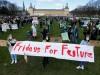 Protest mit Abstand: Der siebte globale Klimastreik in Bonn.