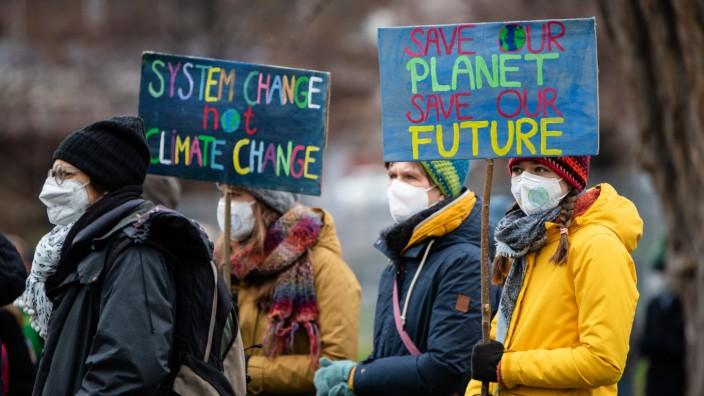 Klimaprotest Fridays for Future - Stuttgart