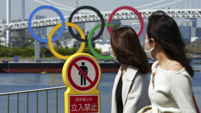 Before the Olympic Games in Tokyo