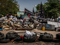 Civil Disobedience Continues As Death Toll Mounts In Myanmar