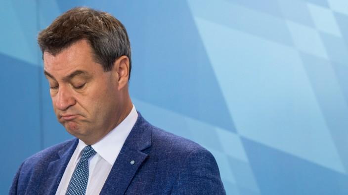Sitzung des bayerischen Kabinetts