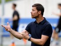 Xabi Alonso als Trainer der zweiten Mannschaft von San Sebastian