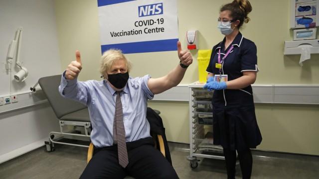 Coronavirus - Großbritannien