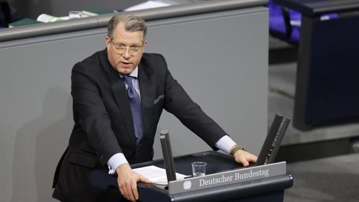 Michael Kuffer in der 203. Sitzung des Deutschen Bundestages im Reichstagsgebäude. Berlin, 13.01.2021 *** Michael Kuffer