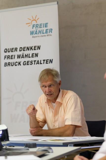 FÜRSTENFELDBRUCK:  Pressegespräch der Fraktion der Freien Wähler im Stadtrat von Fürstenfeldbruck