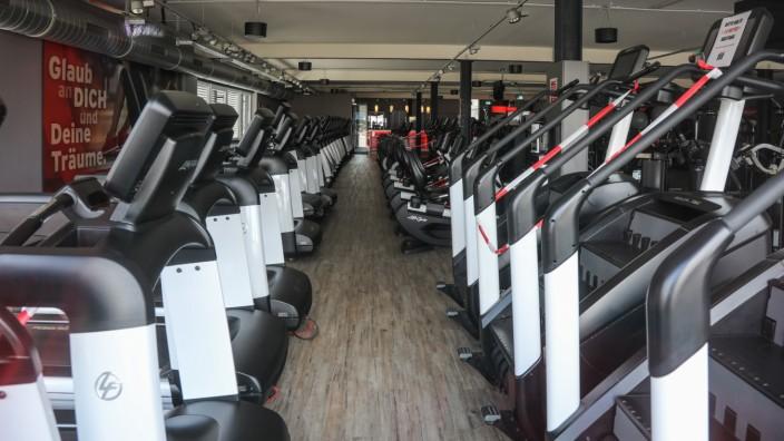 Leere Fitnesscenter