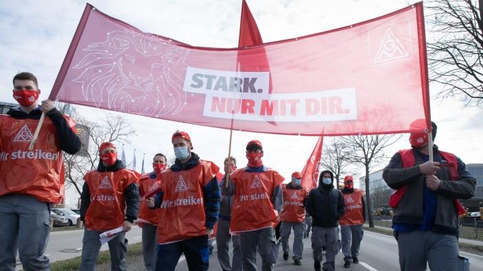 Demo Garching-Hochbrück