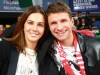Sport Bilder des Tages Fussballer Thomas Müller und Frau Lisa / Basketball / Euroleague / FC Bayern Basketball - Zalgir