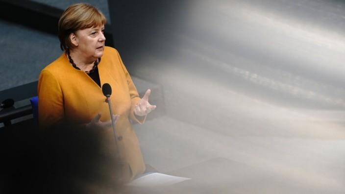 Corona in Deutschland: Angela Merkel spricht im Bundestag