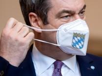 Coronavirus - Plenarsitzung im Landtag