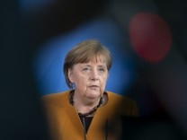 Merkel Gives Statement Following Reversal Of Easter Lockdown Decision