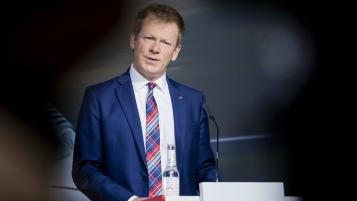 Deutsche Bahn: Vorstand Richard Lutz