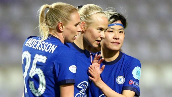 WomenâÄÖs Champions League - Quarter Final First Leg - Chelsea v VfL Wolfsburg