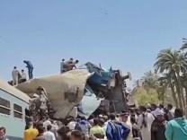 Ägypten: 19 Tote bei Zusammenstoß zweier Züge