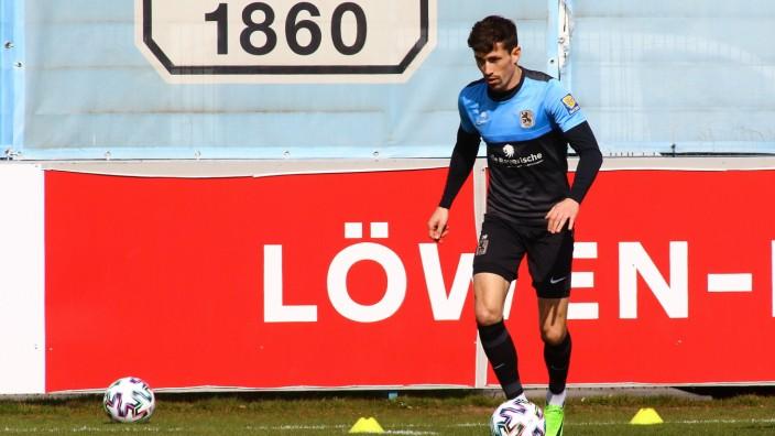 Muenchen, Deutschland 25. Maerz 2021: 3.Liga - 2020/2021 - TSV 1860 Muenchen - Training - 25.03.2021 Phillipp Steinhart