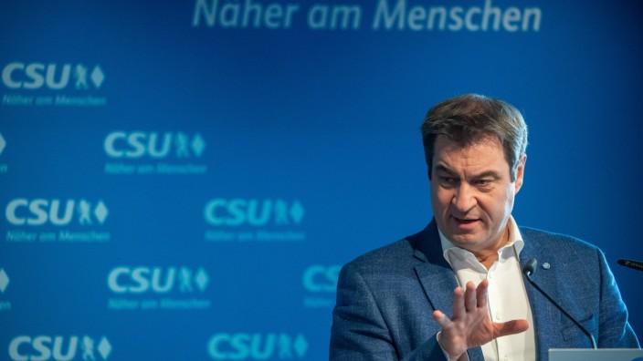 Videokonferenz des CSU-Vorstands