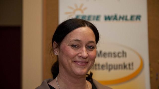 Nominierung in Hohenlinden: FW-Bundestagskandidatin Birgit Obermaier.