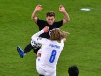 Fussball, Herren, Länderspiel, WM-Qualifikation, Gruppe J, 1. Spieltag, Schauinsland-Reisen-Arena Duisburg; Deutschland