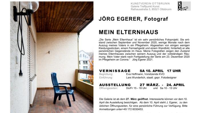 """""""mein elternhaus"""", jörg egerer, fotograf"""