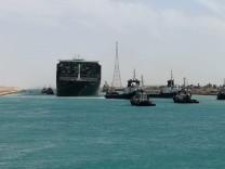 Blockade durch Containerschiff: Und wieder eine Suezkrise