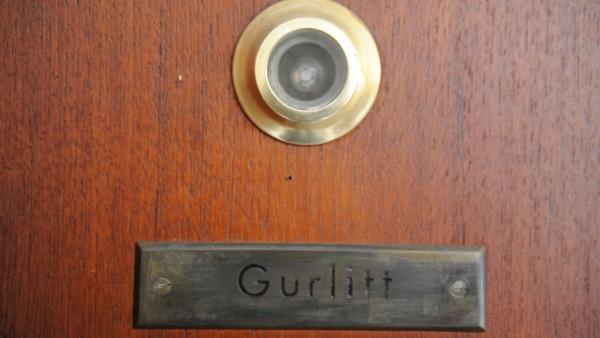 Wohnhaus von Cornelius Gurlitt in München, 2013