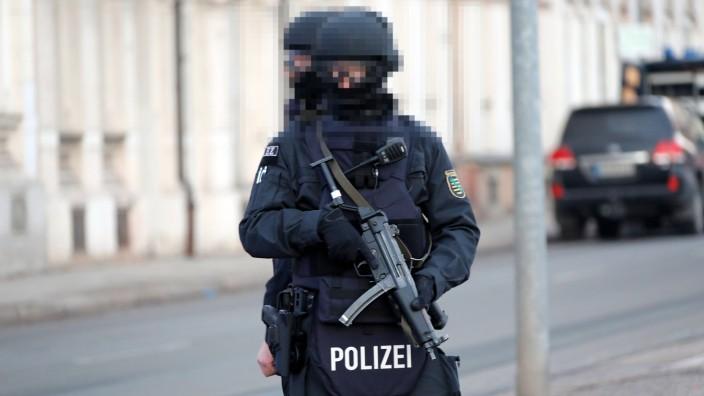 Polizeieinsatz 13 02 2017 Chemnitz Am Montagnachmittag gab es in Chemnitz auf der Augustusburger St