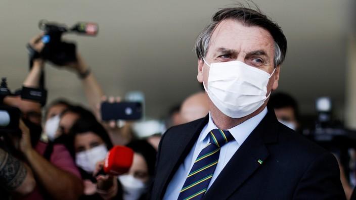 Braucht neue Verbündete: Brasiliens Präsident Jair Bolsonaro.