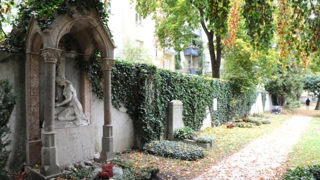 Friedhof Neuhausen in München, 2019