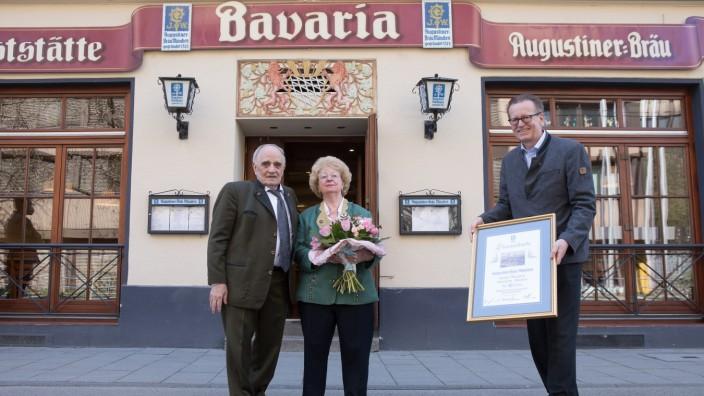 Jubiläum Gaststätte Bavaria, Bayerstraße 81